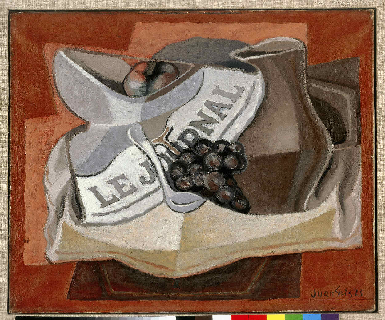 GRIS, Juan, <i>La grappe de raisins</i>