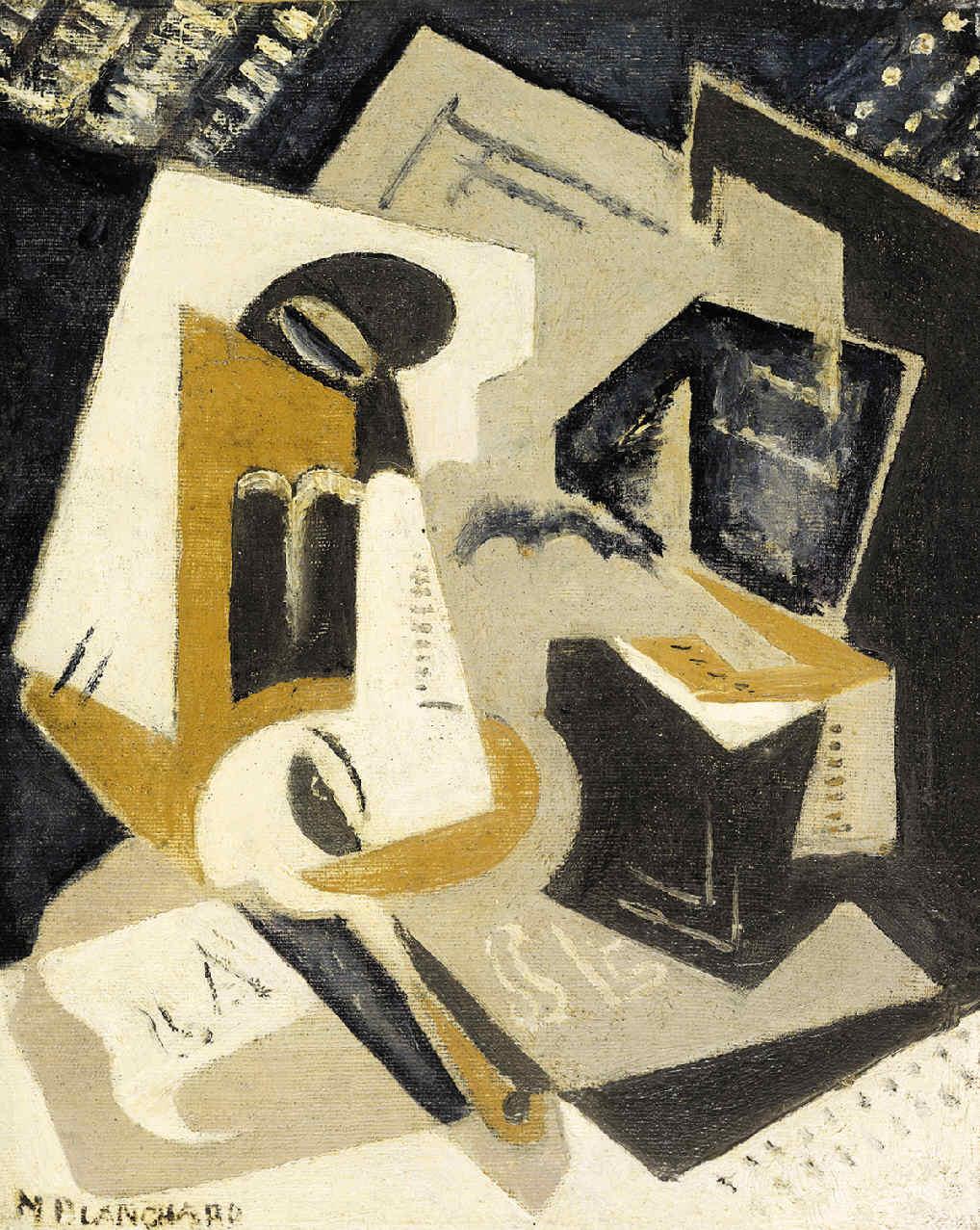 BLANCHARD, María, <i>Composición cubista</i>