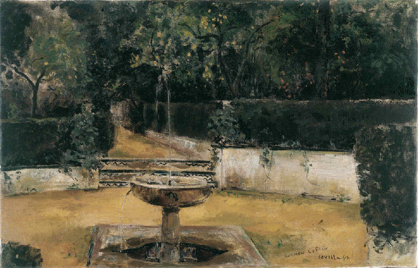 LAFFÓN, Carmen, <i>Jardines del Alcázar</i>