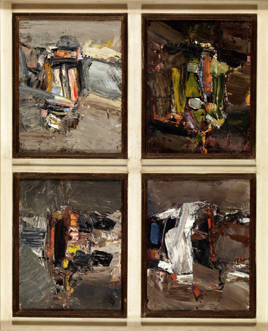 PELAYO, Orlando, <i>Composición abstracta III</i>
