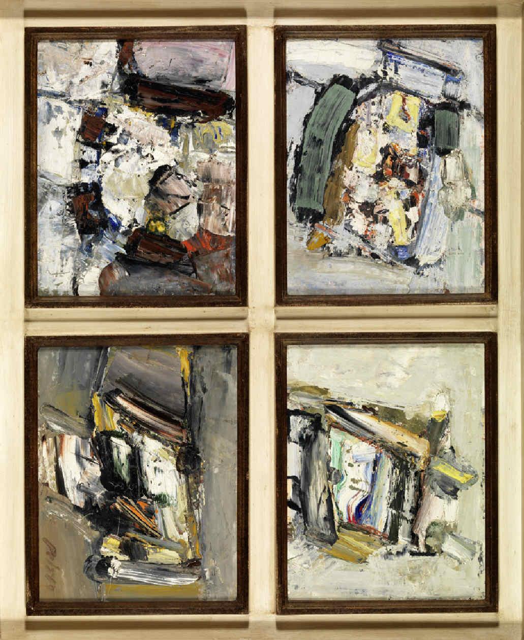 PELAYO, Orlando, <i>Composición abstracta IV</i>
