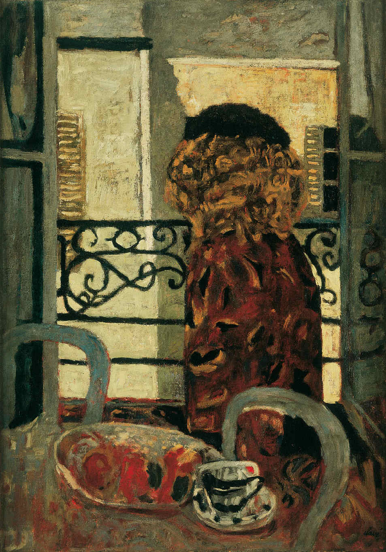 CLAVÉ, Antoni, <i>La señora en la ventana</i>