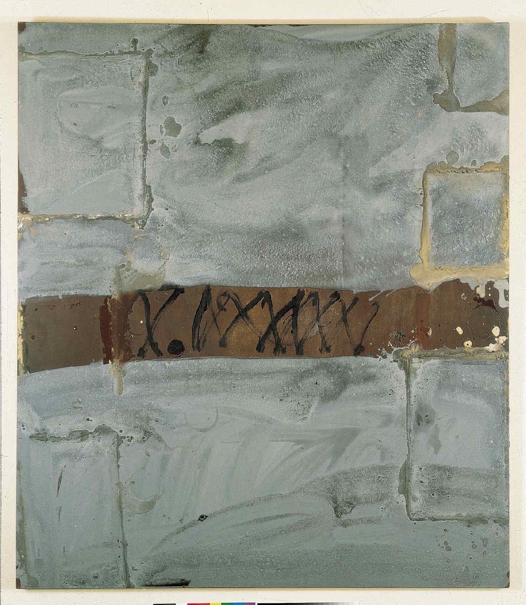 TÀPIES, Antoni, <i>Rectangules grisos</i>