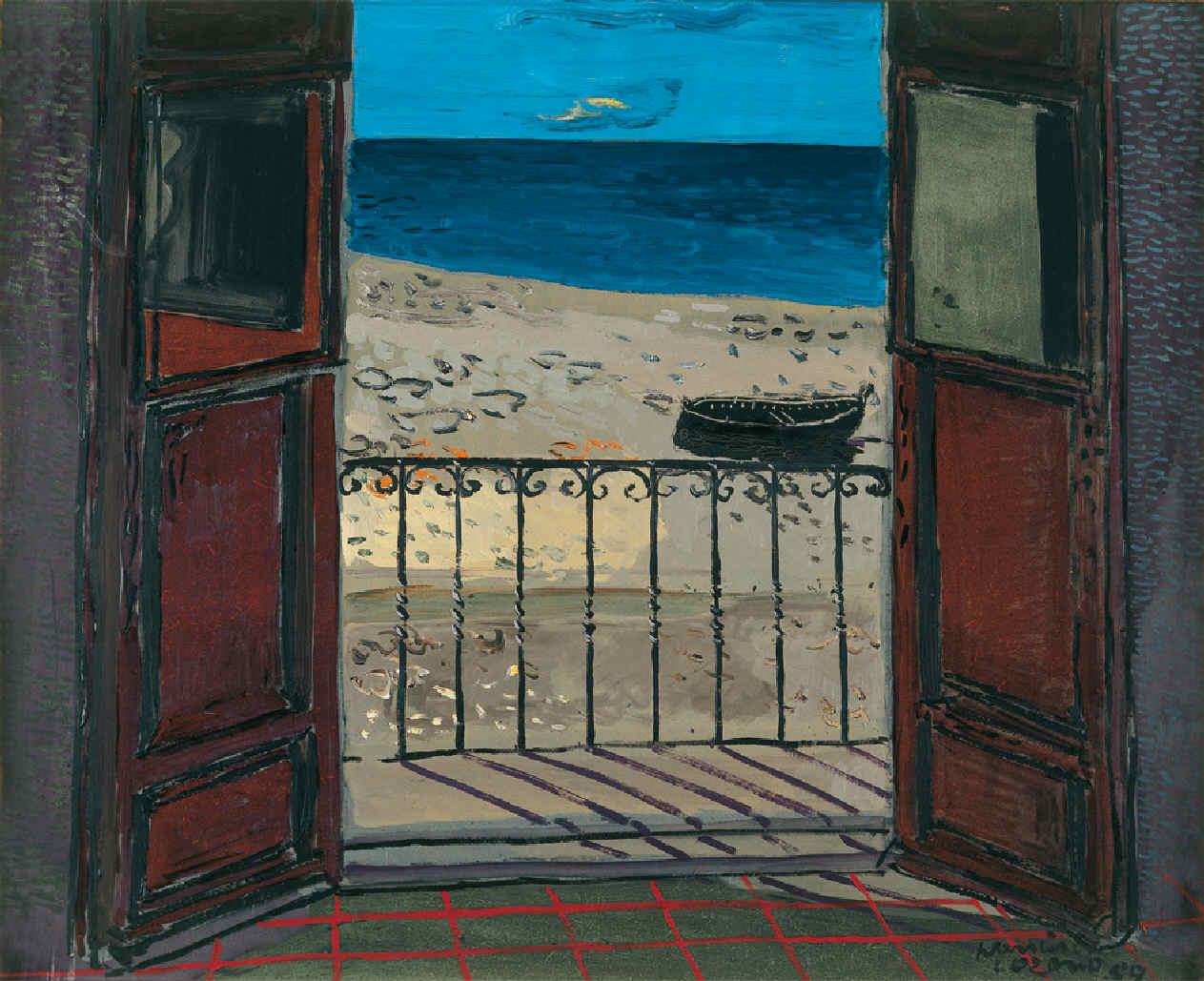 'Balcón al mar' (1959). Francisco Lozano