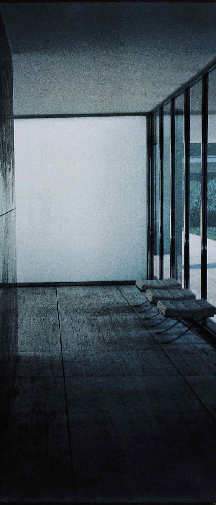 FÖRG, Günther, <i>Barcelona Pavillon II</i>
