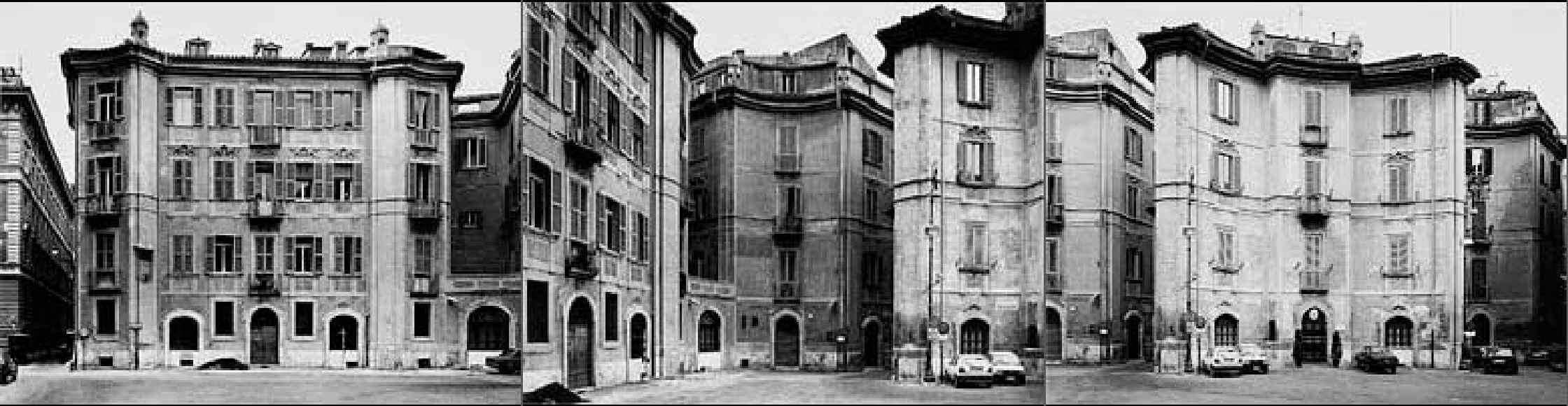 STRUTH, Thomas, <i>Piazza San Ignazio I-III, Rome</i>