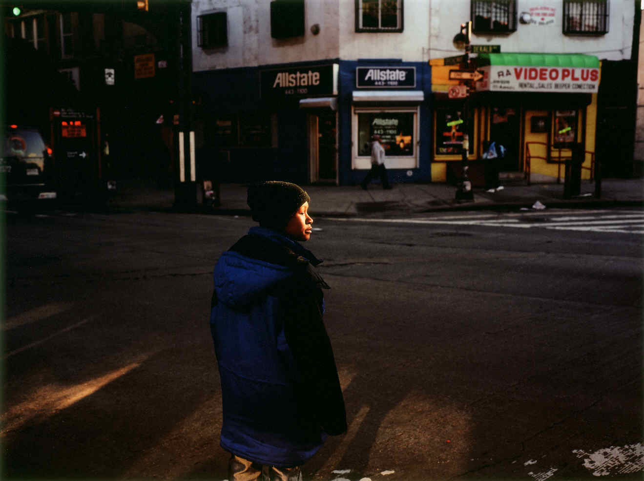 GRAHAM, Paul, <i>Untitled #40, Woman with golden face, New York</i>