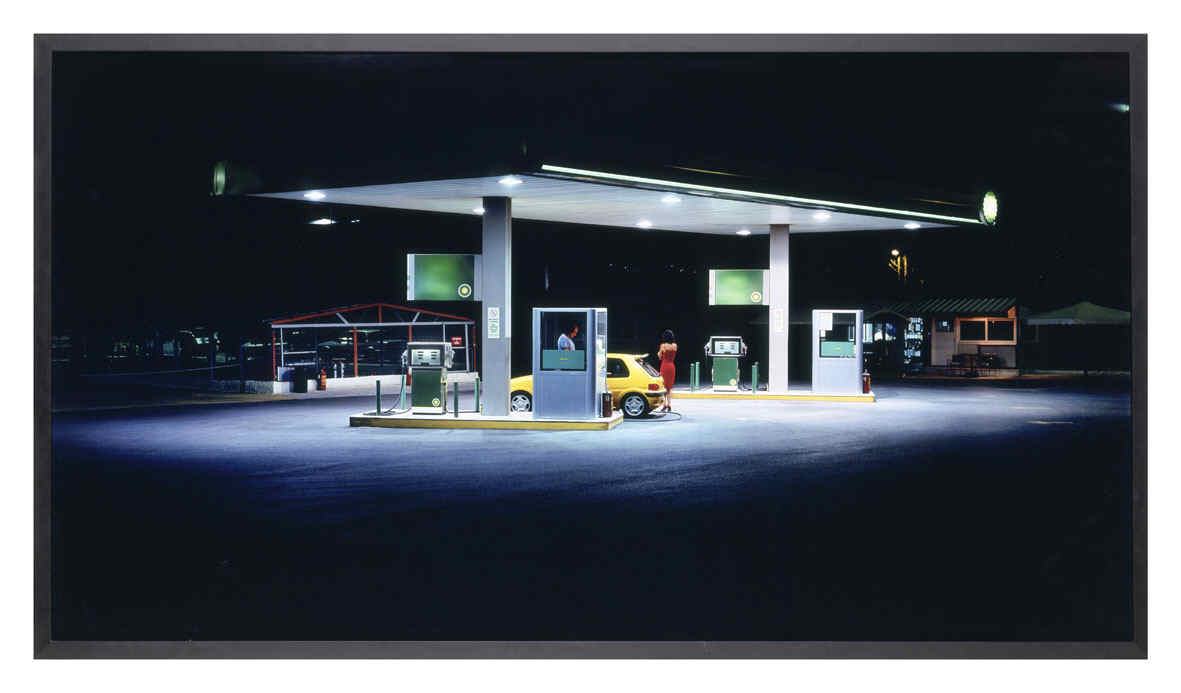 KOKKINIAS, Panos, <i>Gas Station</i>