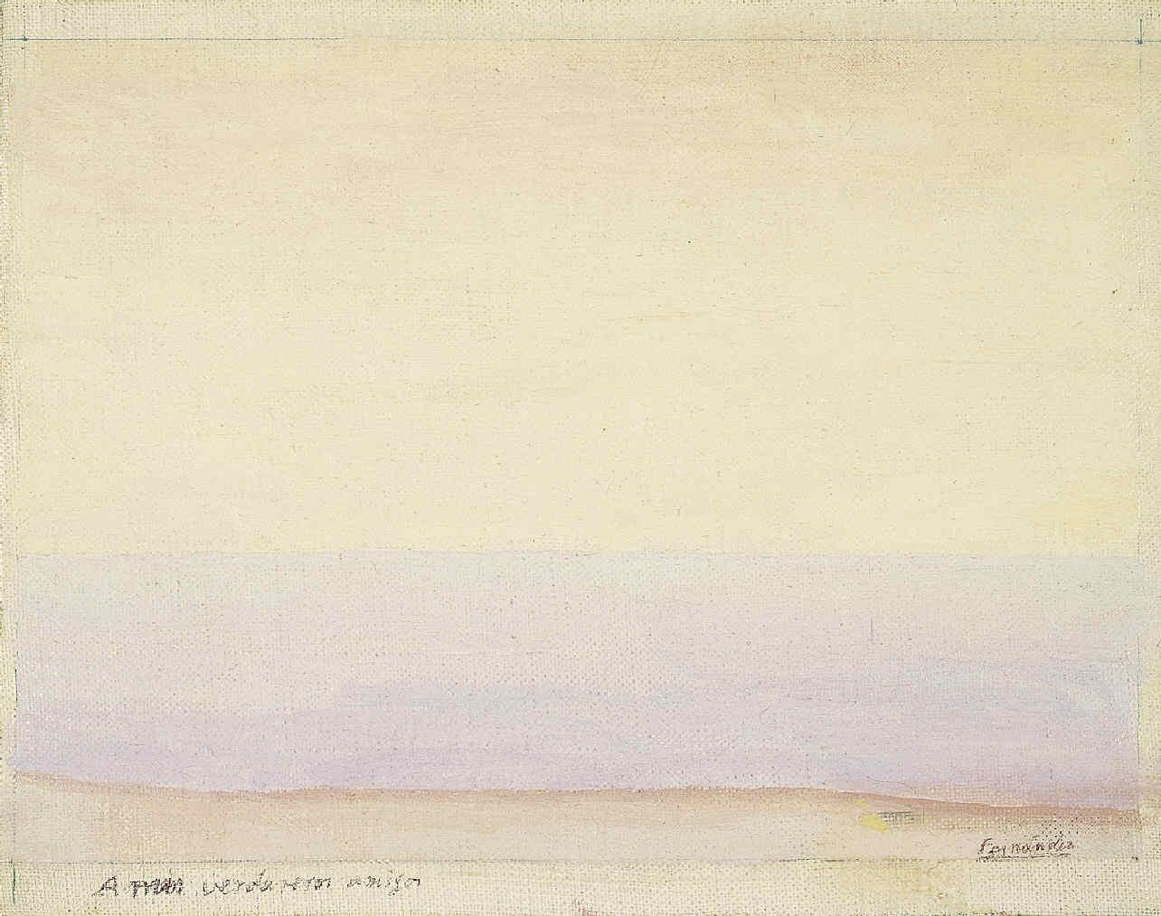 Mer Paysage, de Luis Fernández (Oviedo, 1900-París,1973).