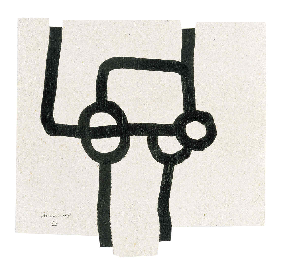 CHILLIDA, Eduardo, <i>Dibujo</i>