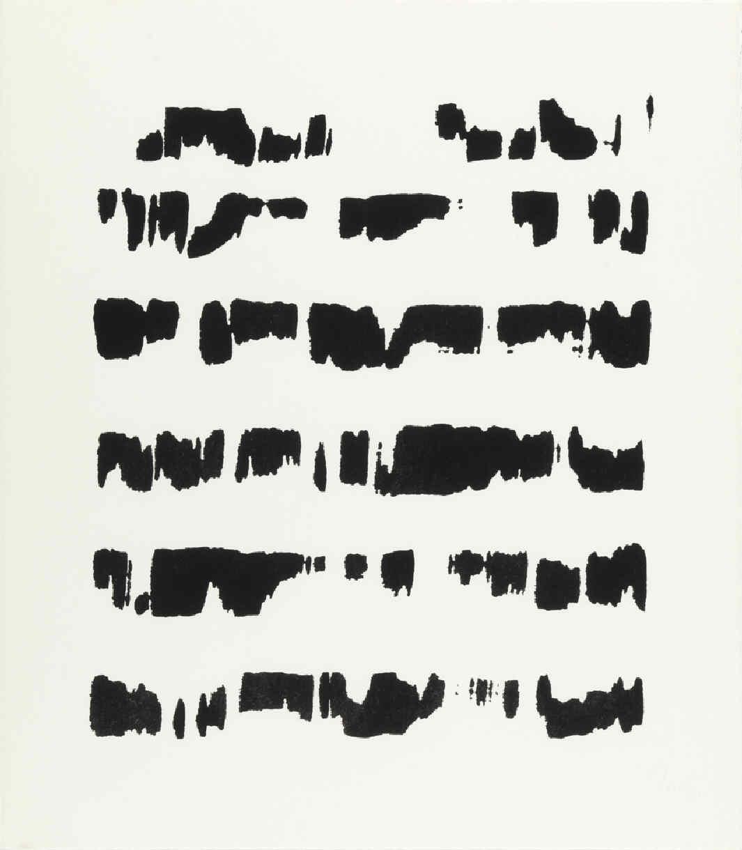 TORNER, Gustavo, Sin título. De la serie, en negro