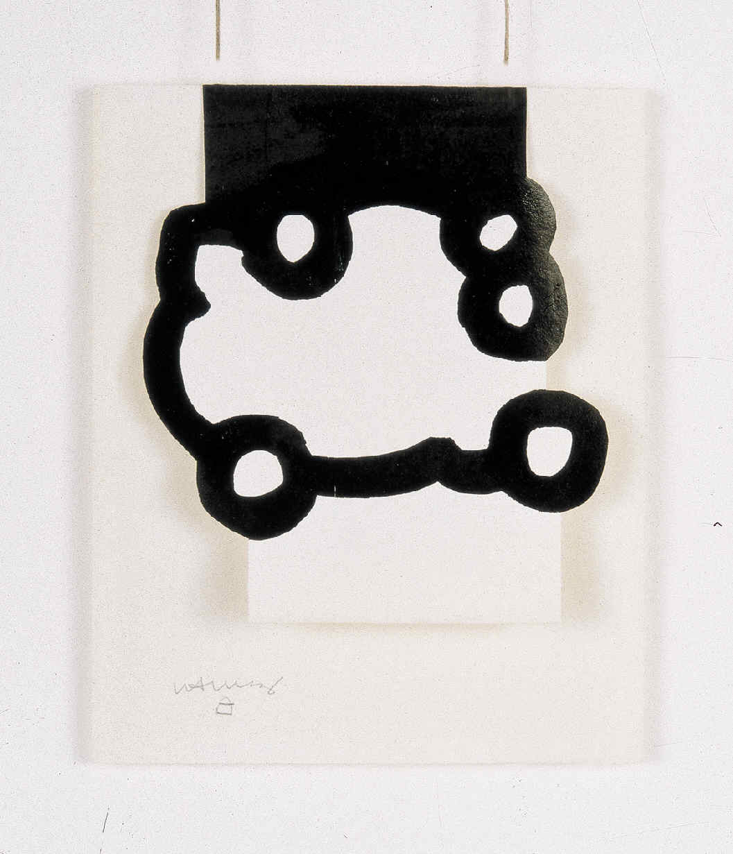 CHILLIDA, Eduardo, <i>Collage y dibujo</i>