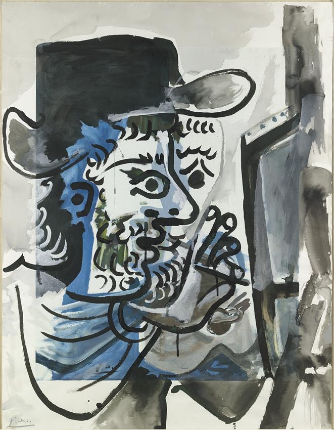 PICASSO, Pablo, <i>Le peintre au travail</i>