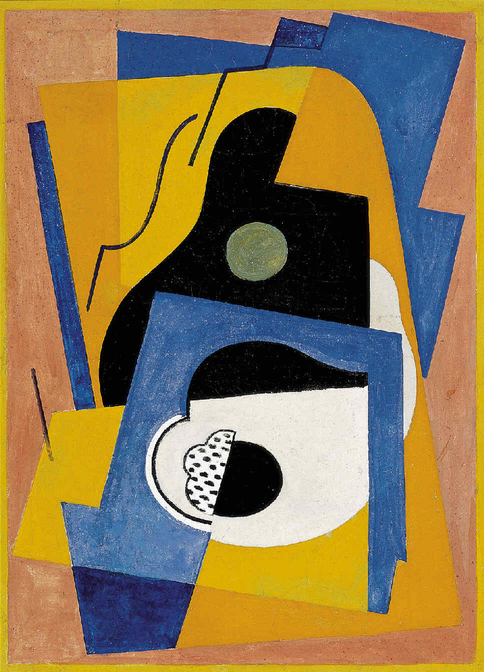 GLEIZES, Albert, <i>Composition à la guitare</i>