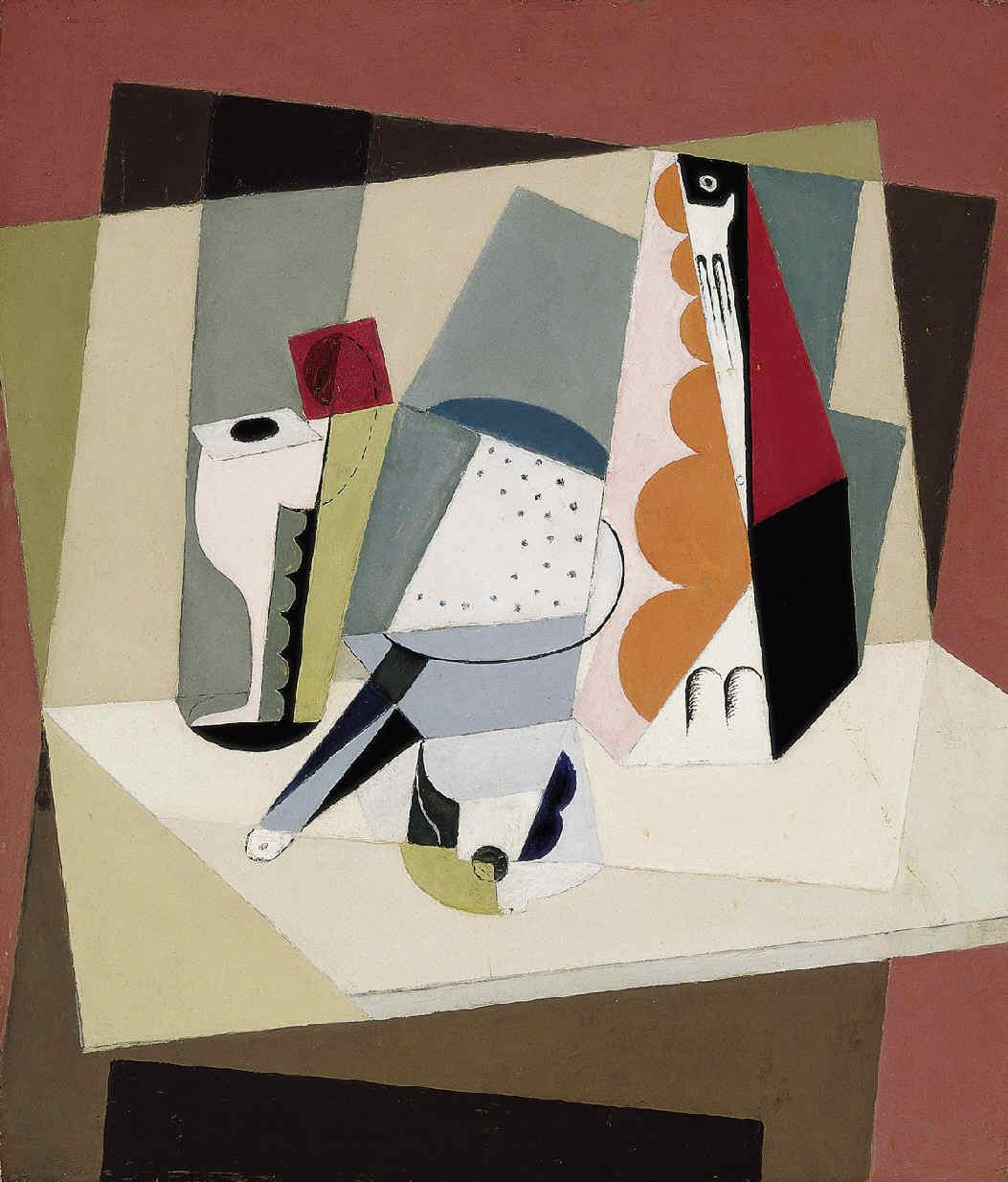 BLANCHARD, María, <i>Nature morte cubiste</i>